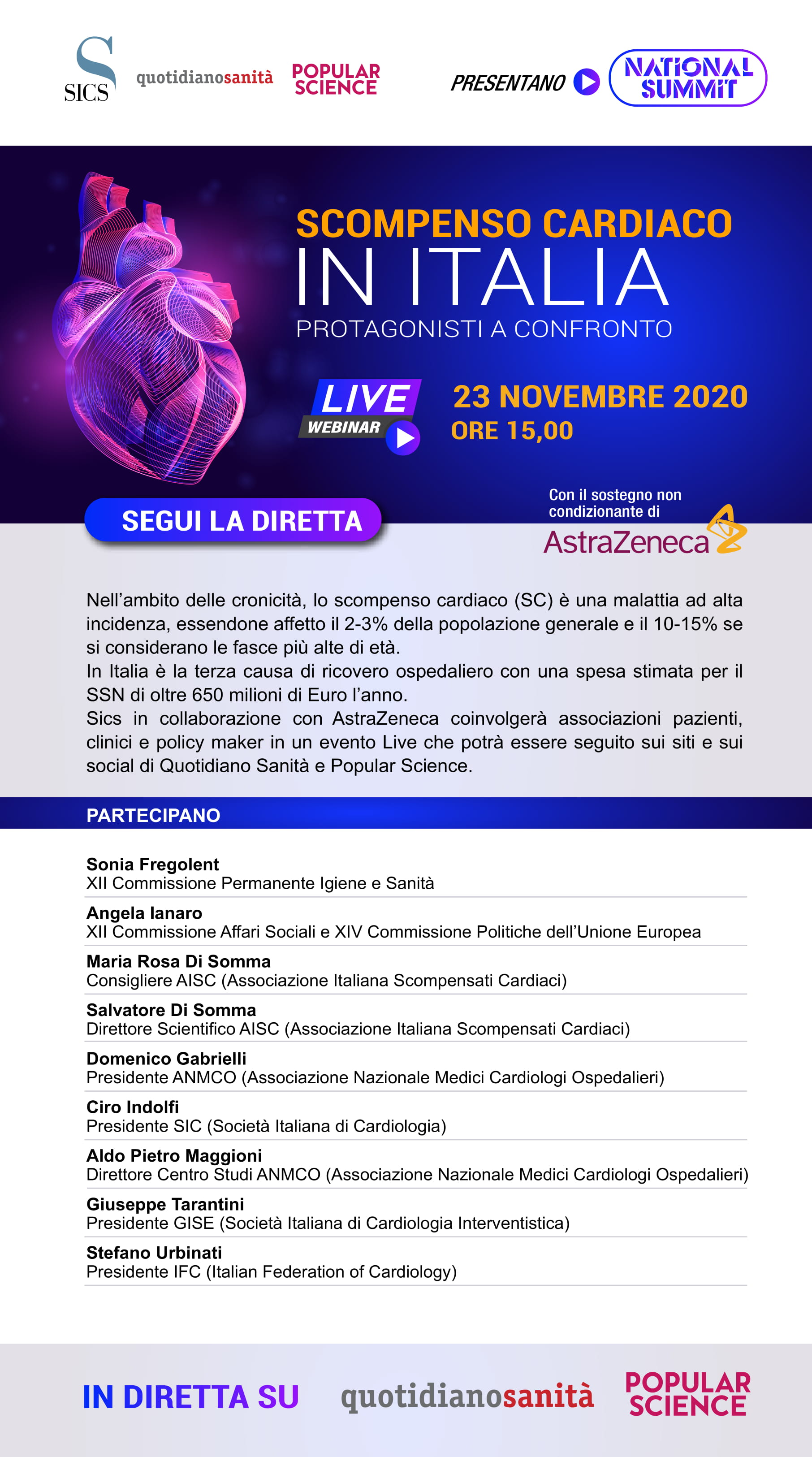 Save the date evento DEF SCOMPENSO CARDIACO def 1
